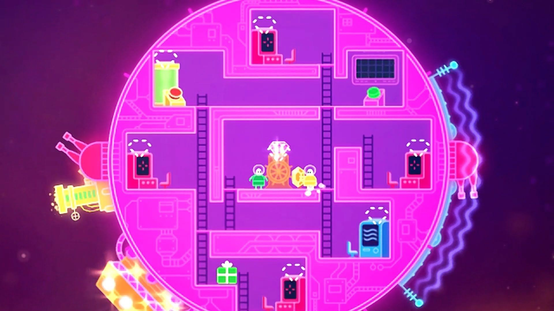 Lovers In A Dangerous Spacetime E3 2014 Trailer Indie Games