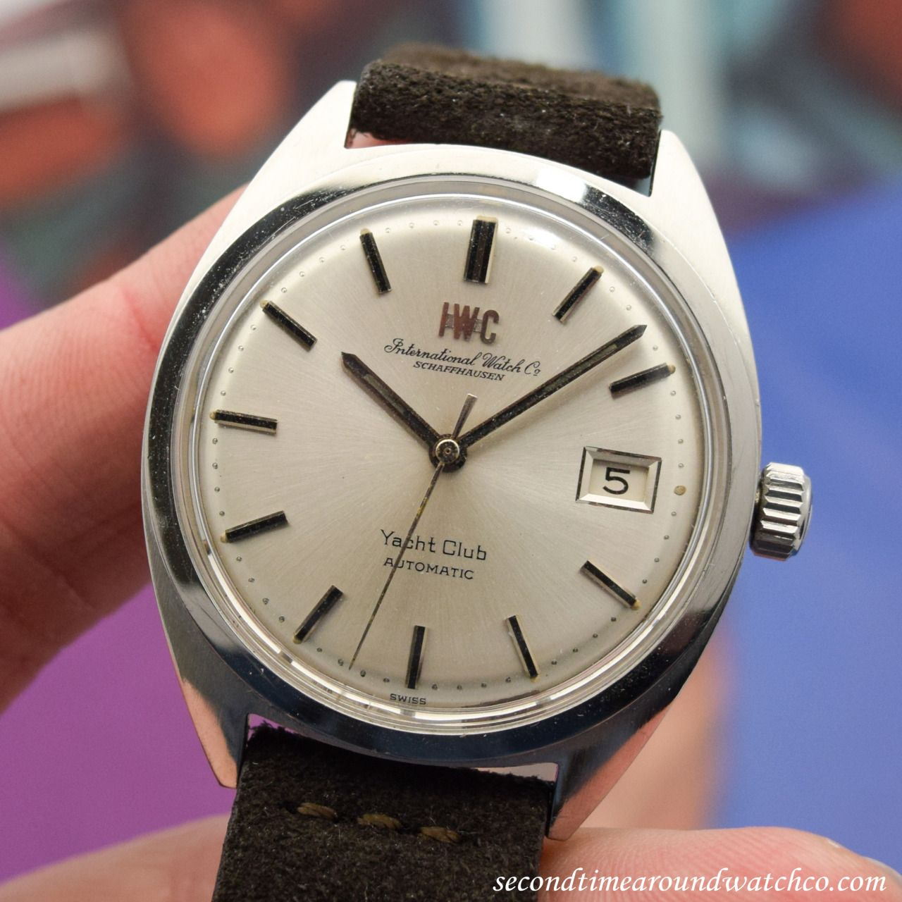 Here we have a 1970 IWC Yacht Club Ref. 811 in Stainless