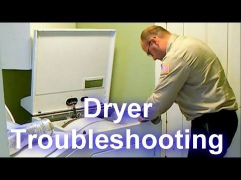 ▶ Dryer Troubleshooting - Not Drying or Taking a Long Time to Dry - YouTube. i'm doing this immediately, my dryer just isn't drying.
