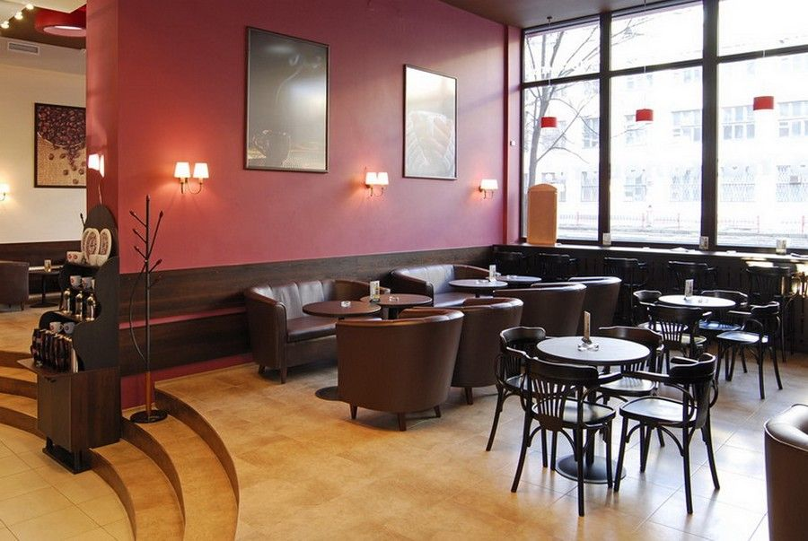 Cafe Interior Design Ideas the right choice for cafe interior design ideas with coffee cafe interior design ideas cool Decorating Modern Cozy Cafe Interior Design With Elegant Flooring