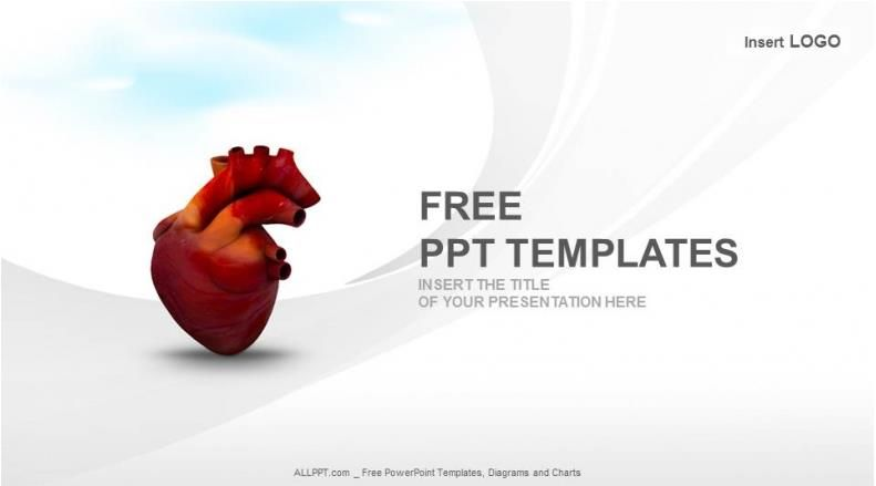 Heart Ppt Templates Free Download Free Cardiac Powerpoint Templates