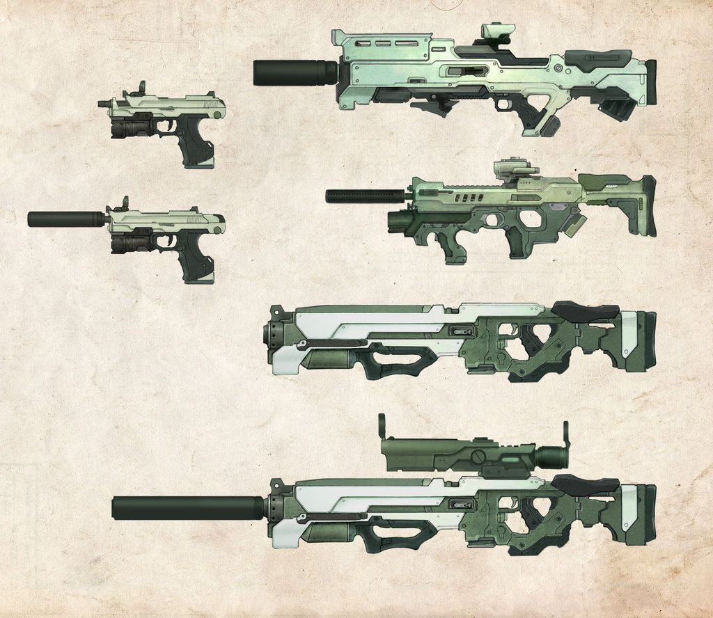 DS Prototype Weapons by bflynn22 equipment gear magic item | Create your own roleplaying game material w/ RPG Bard: www.rpgbard.com | Writing inspiration for Dungeons and Dragons DND D&D Pathfinder PFRPG Warhammer 40k Star Wars Shadowrun Call of Cthulhu Lord of the Rings LoTR + d20 fantasy science fiction scifi horror design | Not Trusty Sword art: click artwork for source
