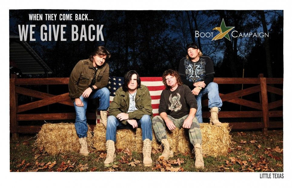 Little Texas says get your Boots on! Get YOUR BOOTS on! http://www.bootcampaign.com