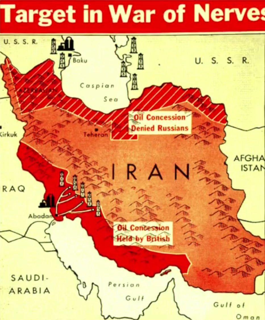 Iran after 2nd world war maps pinterest iran modern history iran after 2nd world war historical mapsmodern gumiabroncs Gallery