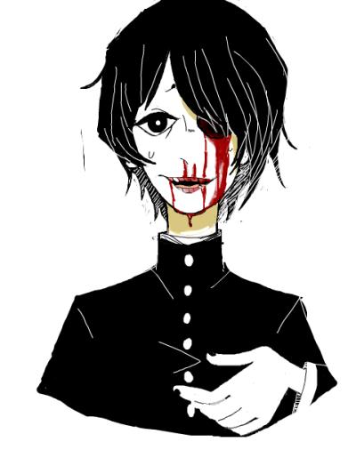 Bloody boy Guro art
