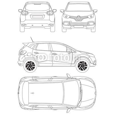 Hi to all 3d modeling artists i have published my detailed renault hi to all 3d modeling artists i have published my detailed renault captur car blueprint malvernweather Image collections
