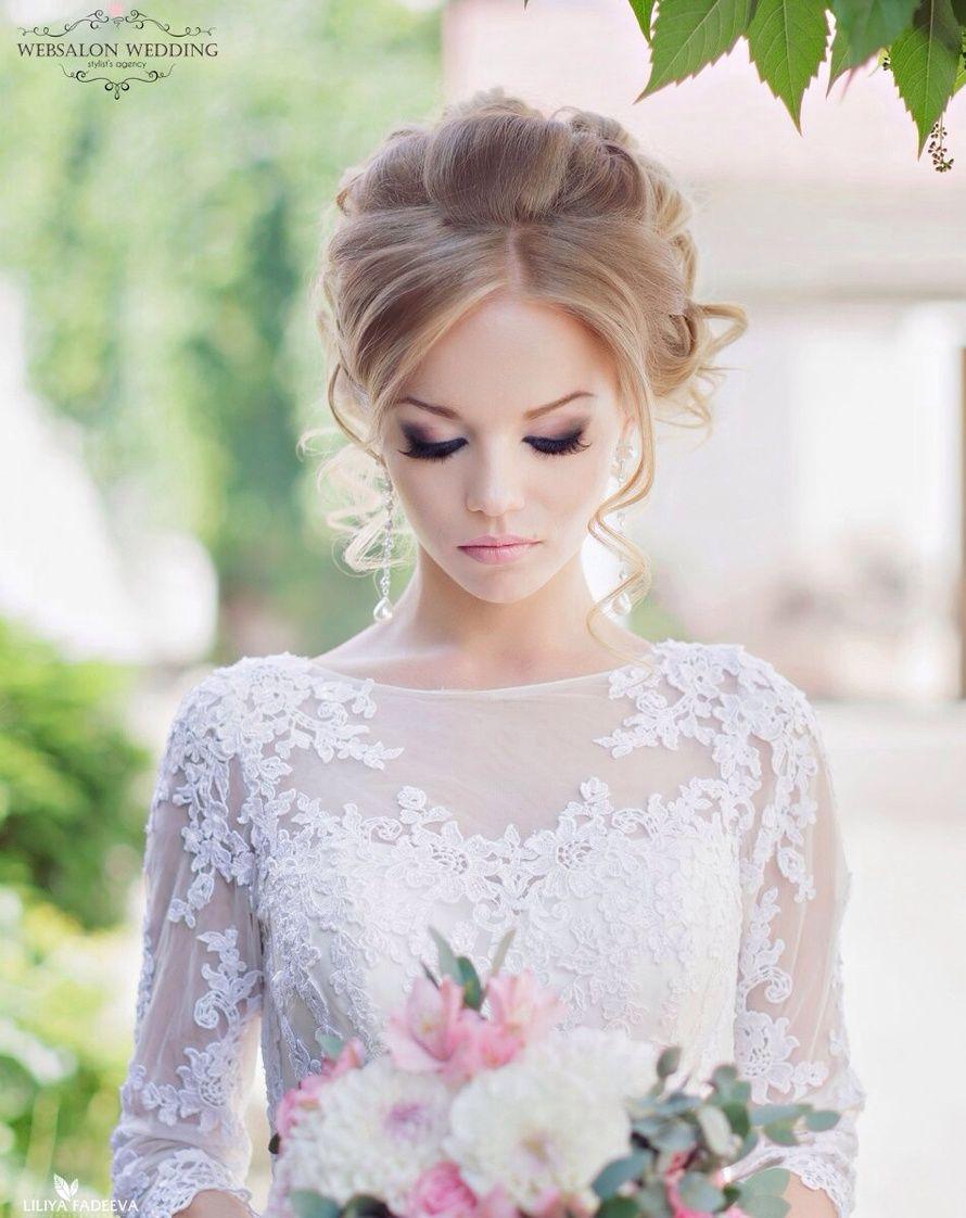 Романтический образ прическа и макияж