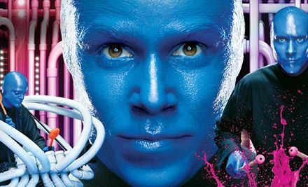 Blue Man Group Performance on July 1–9 at Blue Man Group Theatre at Universal CityWalk Up to $93 29 Value