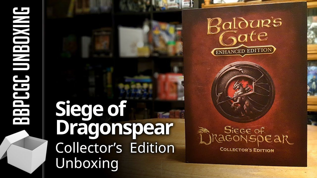 Baldur S Gate Siege Of Dragonspear Collector S Edition Unboxing