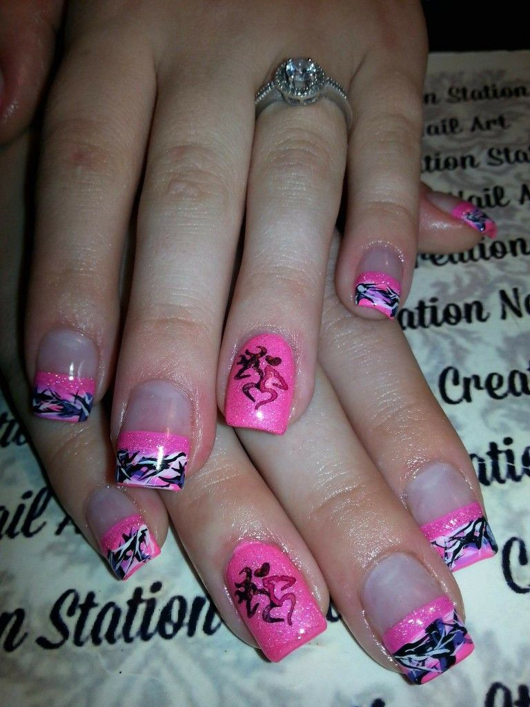 Pin By Cindy Robinson On Nails Design Pinterest Camo Nails