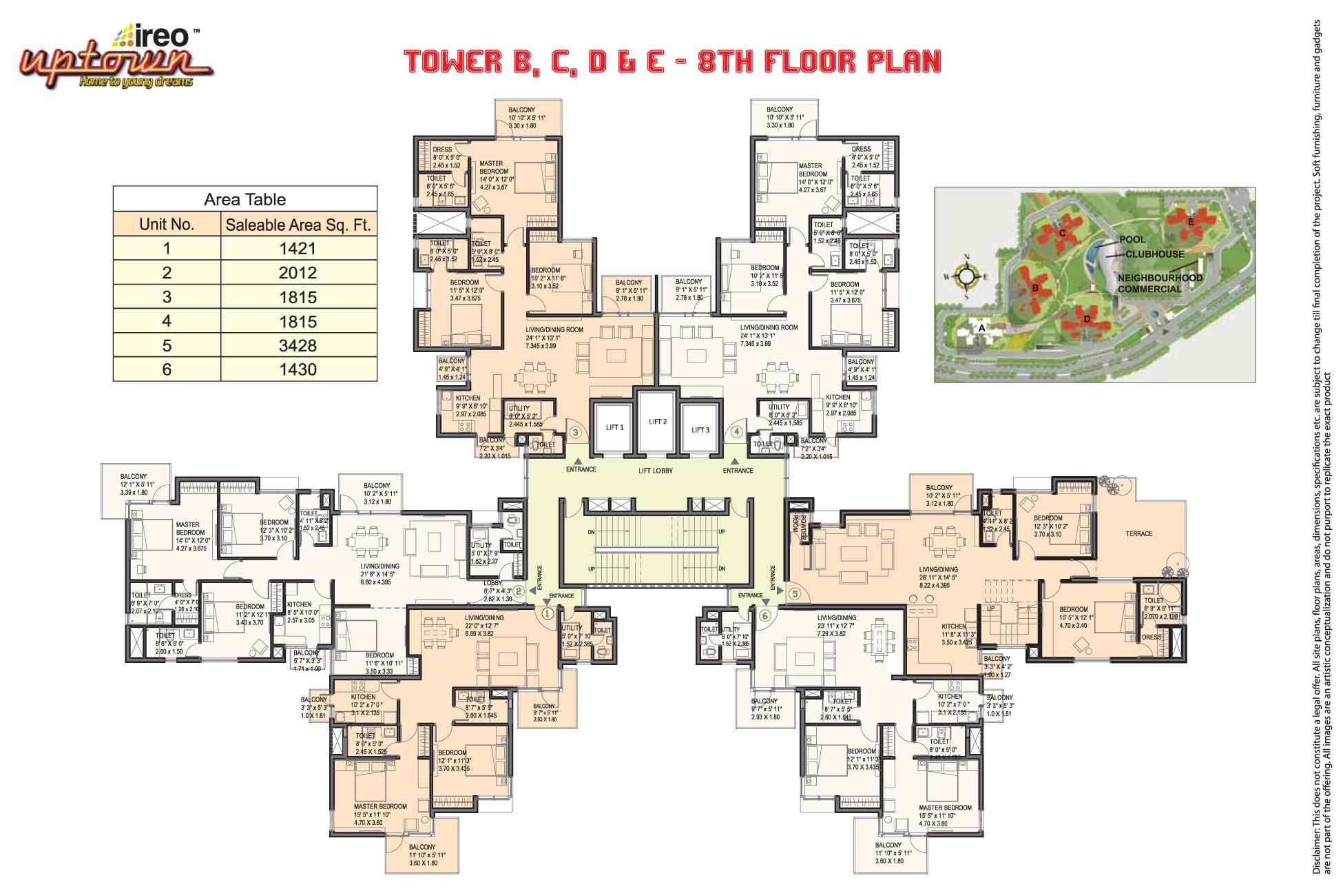 High rise floor plan high rise residential floor plan for Floor plan search