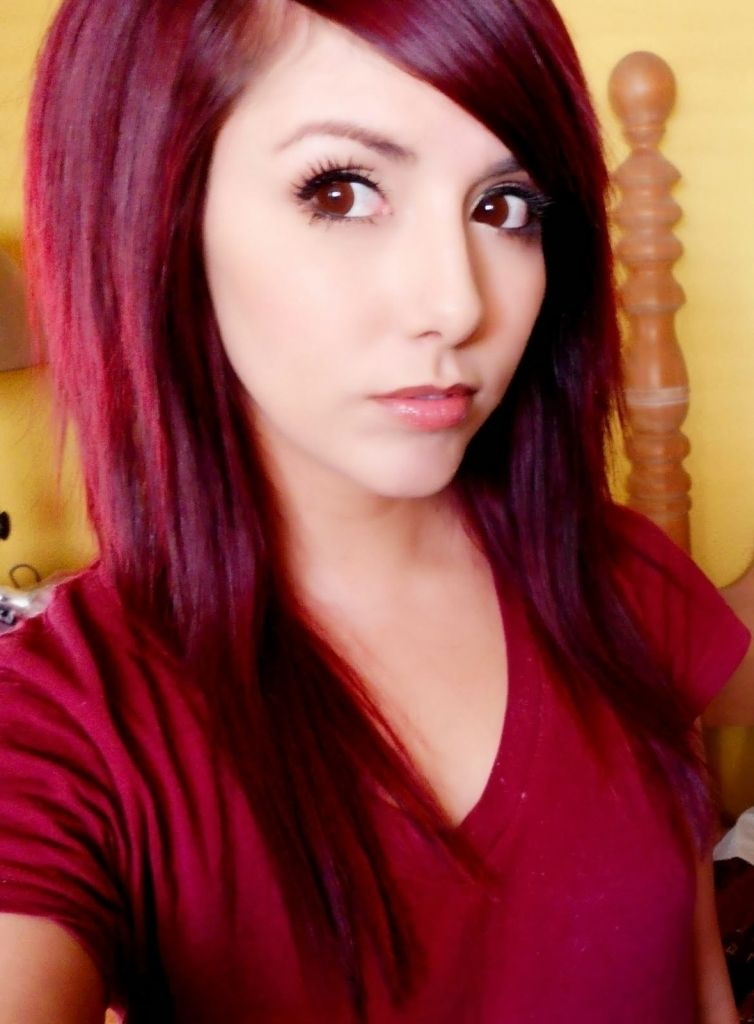 lange rote haare farbe ideen | haarfarben, bunte haare und