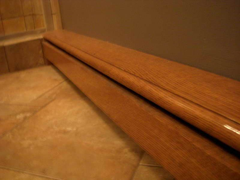wood baseboard covers home pinterest wood baseboard baseboard and woods. Black Bedroom Furniture Sets. Home Design Ideas