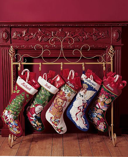 Christmas Stocking Holder Stand Sold From The Horchow