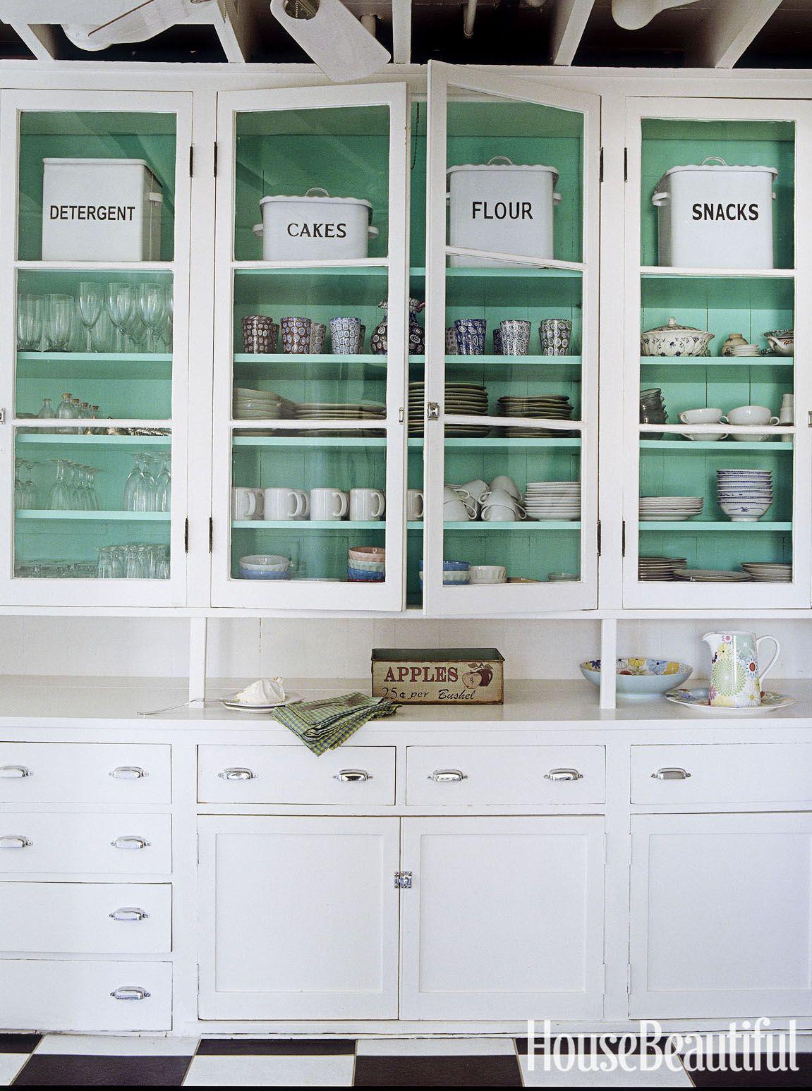 Küche Farben Mit Weißen Schränke - Schlafzimmer | Schlafzimmer ...