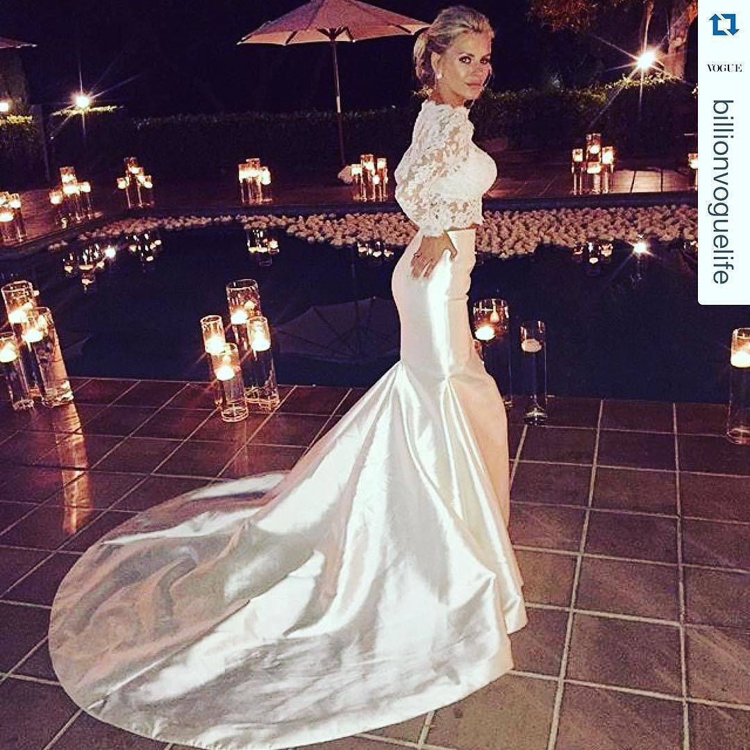 Badgley mischka wedding dress  Repost billionvoguelife with repostapp Mrs Fitzpatrick x