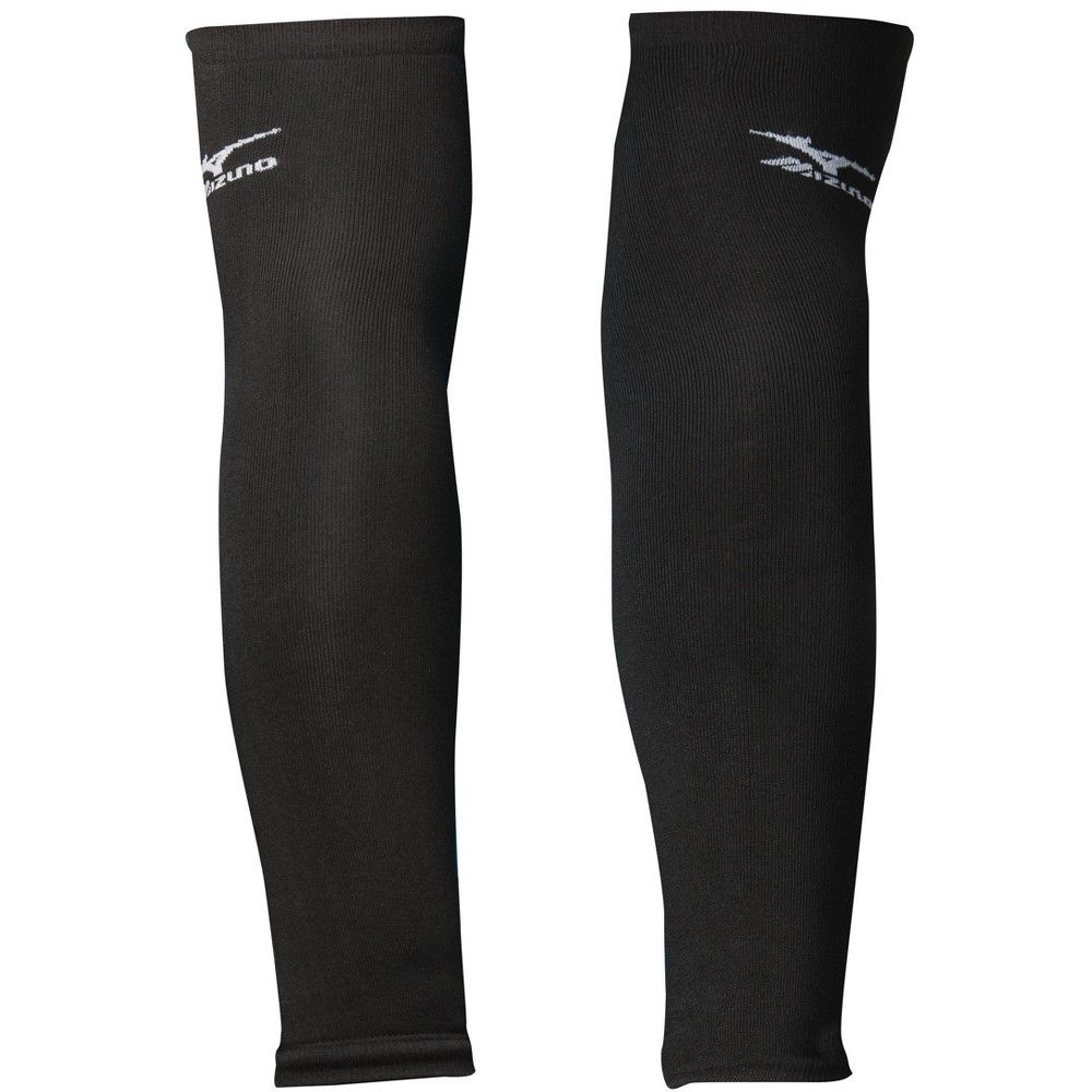 Mizuno Arm Sleeve Unisex Size One Size Fits All In Color Black 9090 In 2020 Mizuno Volleyball Volleyball Outfits Mizuno