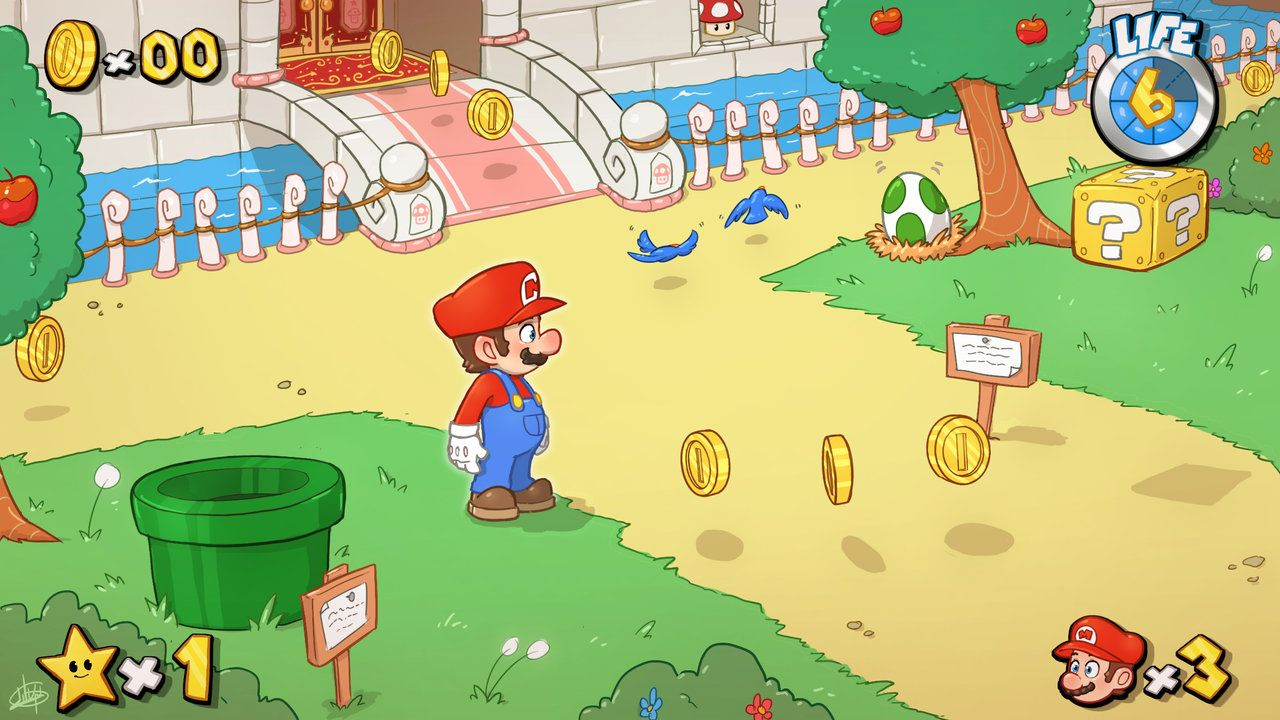 Super Mario Universe By Luigil On Deviantart Super Mario New Mario Games Old Mario Games