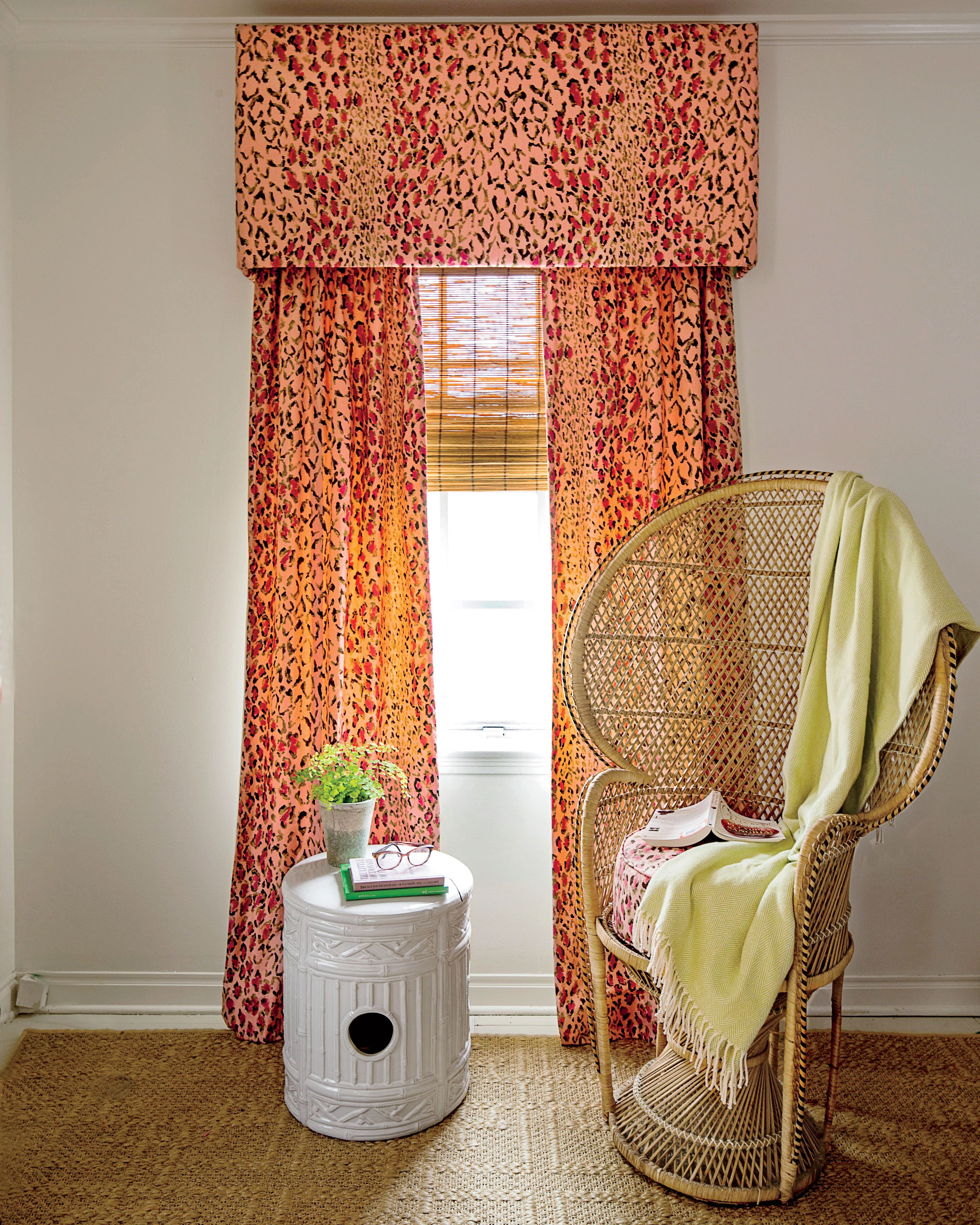 How To Make Your Own Window Valance Every Spring I Think