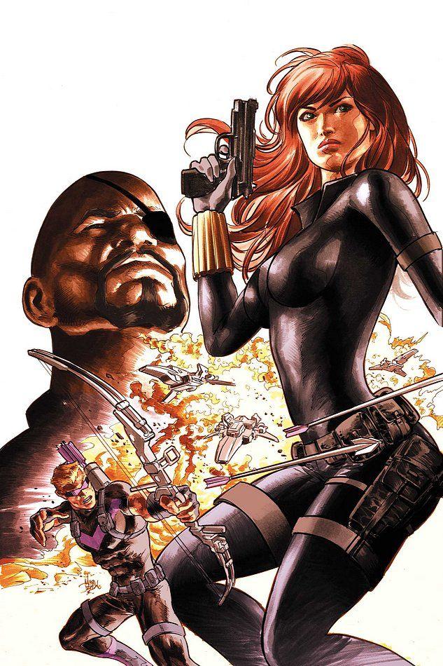 Secret Avengers by Mike Deodato Jr.