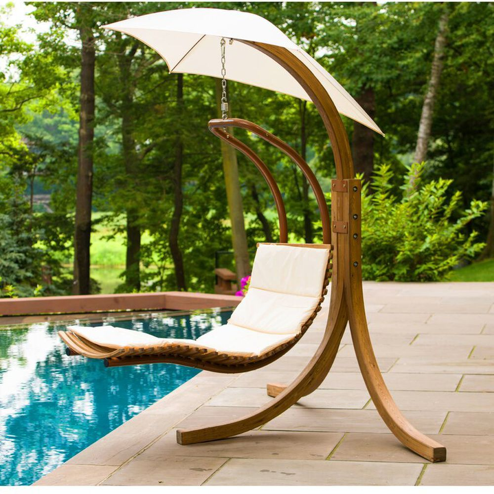 19 Comfy Hammocks For Summer Lounging With Images Chaise Lounger