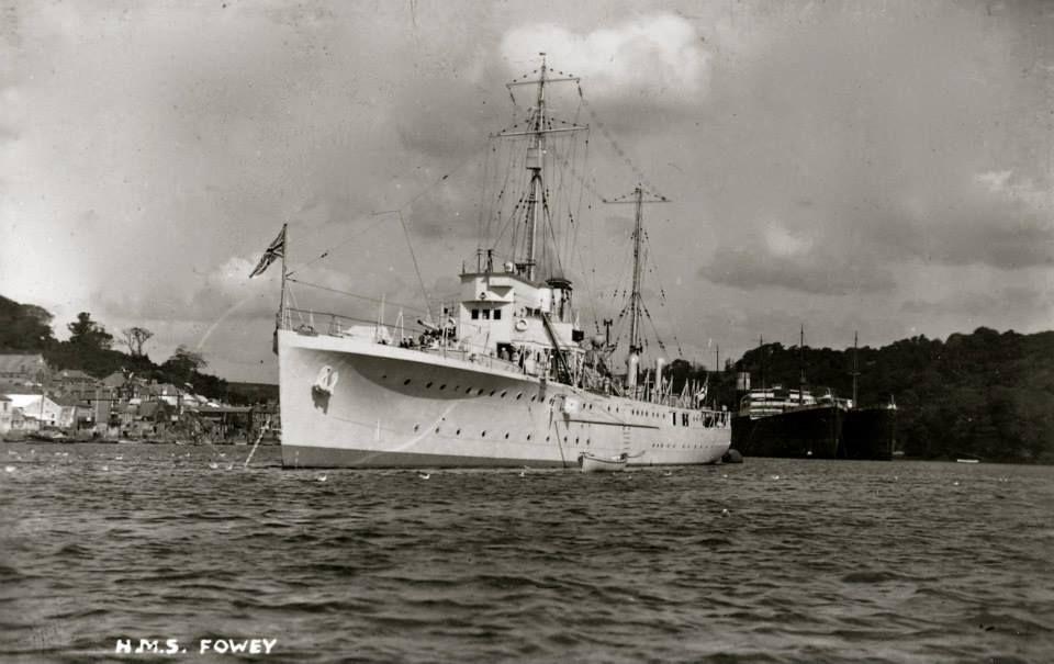 HMS FOWEY | Fowey, Cornwall     ✫ღ⊰n
