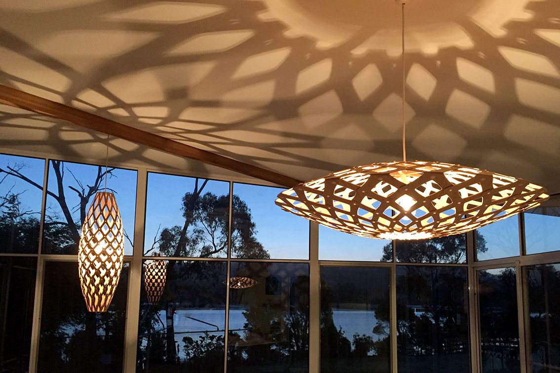VALENTINE interiors + design: the beautiful lights selected and installed for our client's atrium renovation.