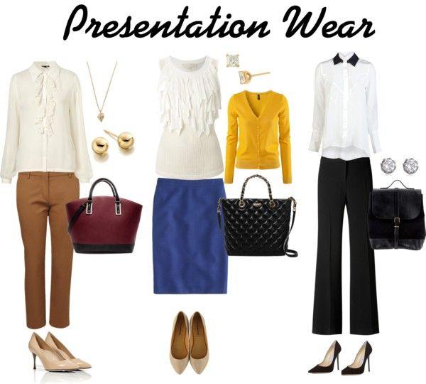 df3a69ad4b0b What to Wear  Presentation Attire Business Wear