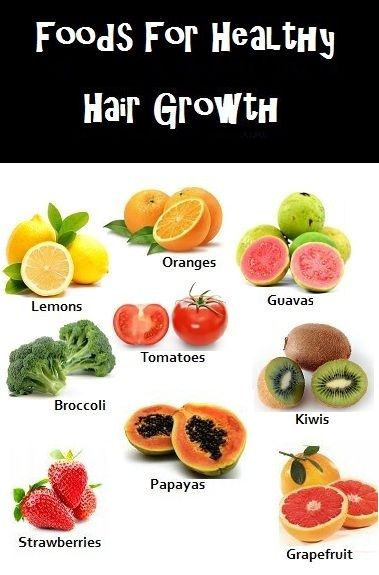 7 Day Diet Chart Foods To Eat For Rapid Hair Growth Beauty Is
