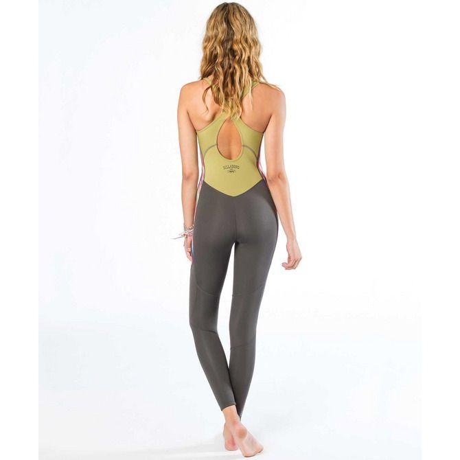 Fitness Junkies Leggings: Billabong // Salty Jane Long John Wetsuit