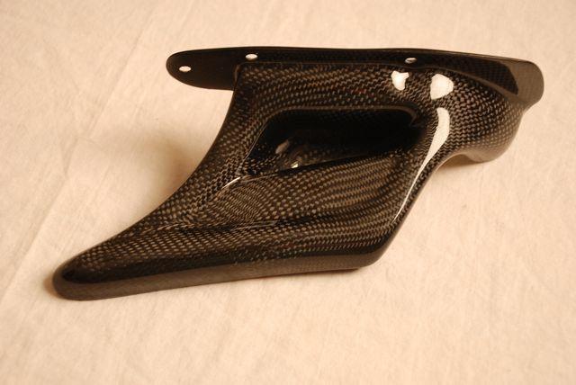 Buell Carbon Fiber Lower Belt Cover for ONLY models XB9 XB12