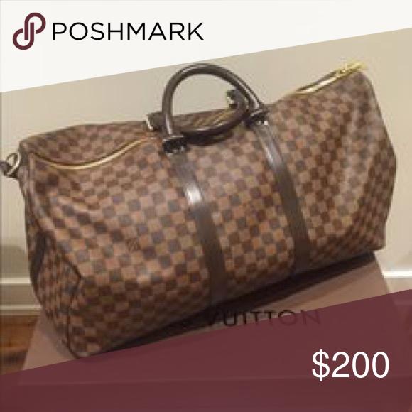 a65874c069ad Louis Vitton duffle bag Lv flower pattern duffle bag Louis Vuitton ...