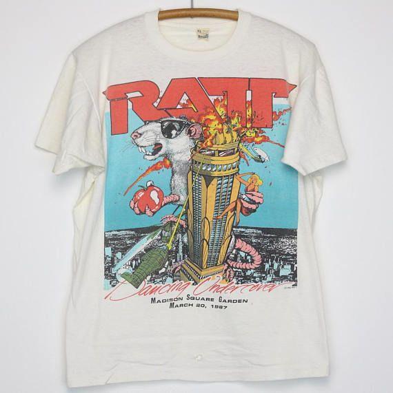 Ratt Shirt Vintage tshirt 1987 Dancing Undercover Tour Concert Tee 1980s  Stephen Pearcy Juan Croucie 8f35b6be814