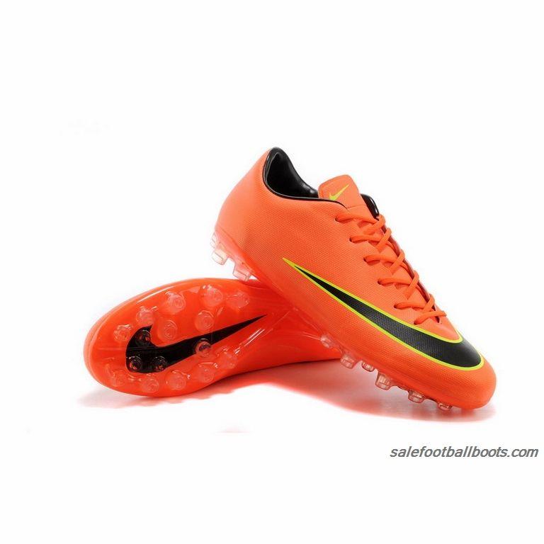 brand new 594d8 a59e7 Nike Mercurial Victory X AG Orange Black Yellow  63.99