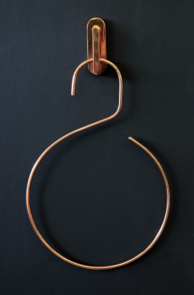 copper hook rocket st george hanger haken hnger kupfer things design home lifestyle