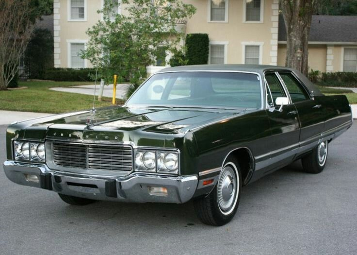 Chrysler New Yorker Late 70s With Images Chrysler Cars