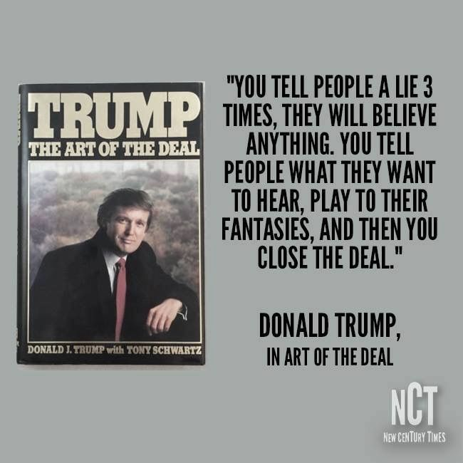 The Art Of The Deal Quotes Custom Something Tells Me That The Goprnc Really Likes This Book And
