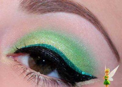 Le Maquillage De La Fée Clochette Idées Photo 15 Ma Folie Des