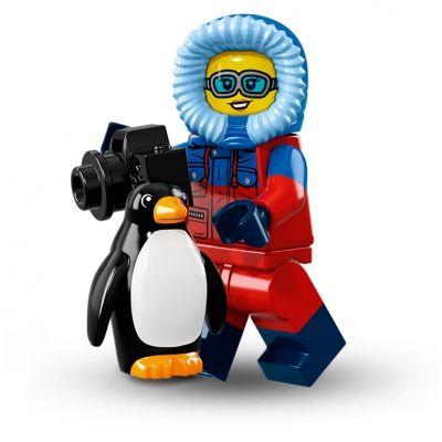 LEGO Series 16 Wildlife Photographer w// Penguin 71013 Minifigure Minifig CMF