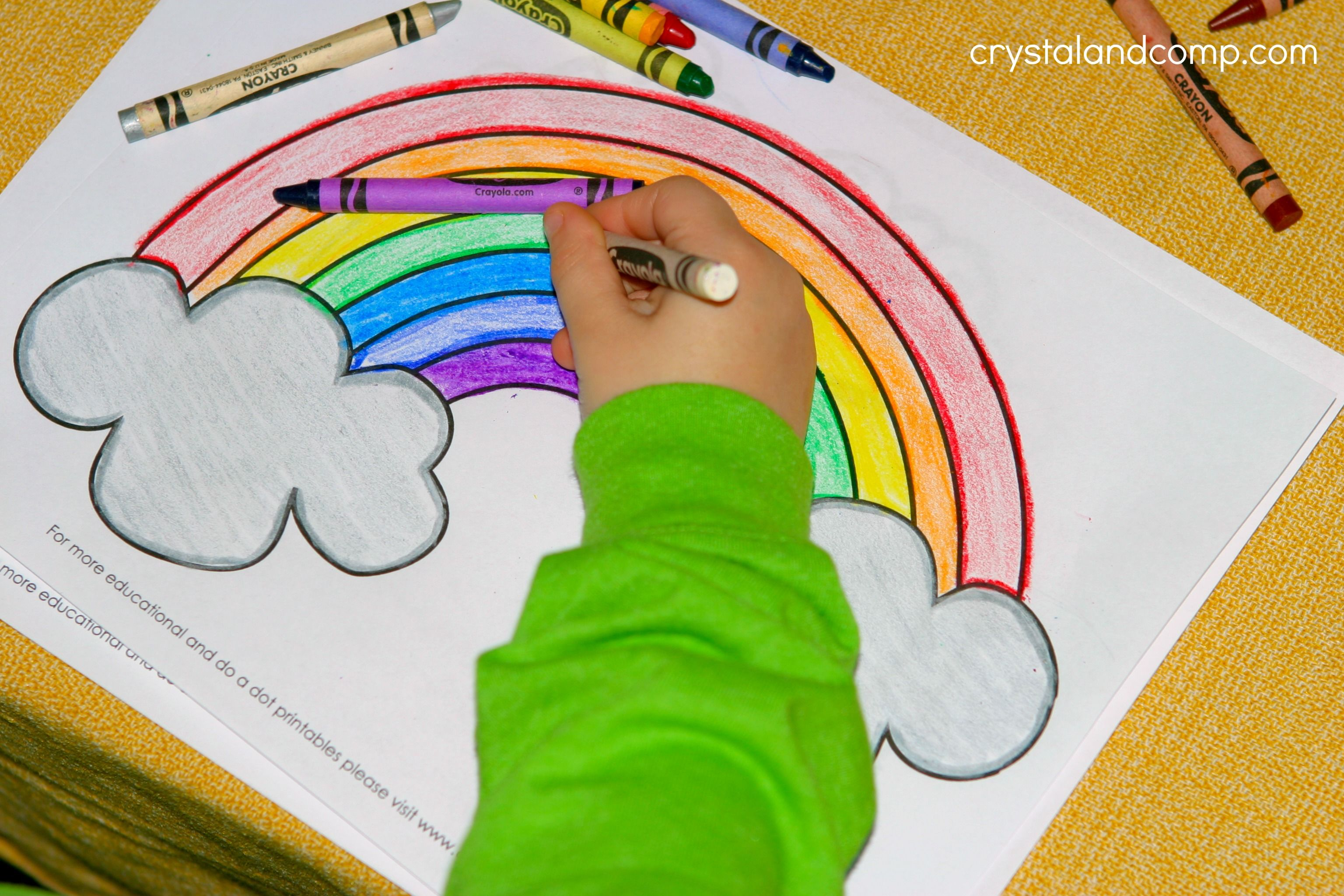 Kid Color Pages for St. Patrick\'s Day | Kids colouring