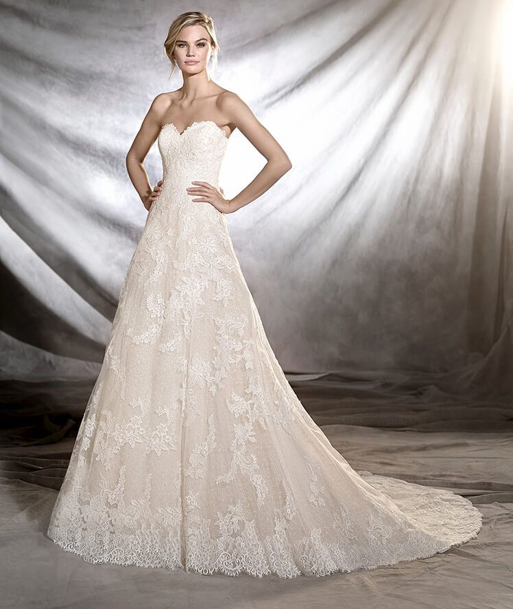 Onia from Pronovias is available at Sincerely, The Bride located in ...