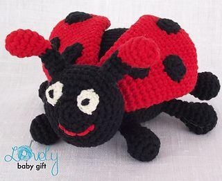 Free Ladybug pattern. | Crochet ladybug, Crochet patterns, Crochet ... | 261x320