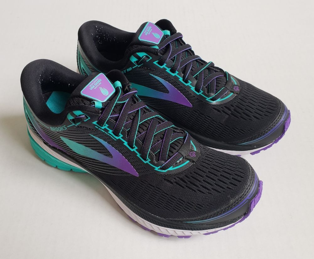 d225e7630676f Brooks Ghost 10 Special Olympics Limited Edition in Black Sparkling Grape  Size 8  fashion  clothing  shoes  accessories  womensshoes  athleticshoes   ad ...