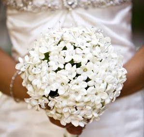Preparing To Meet Your Florist Stephanotis Wedding Bouquet
