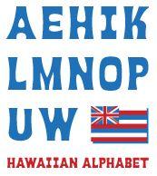 How Many Letters Make Up The Hawaiian Alphabet