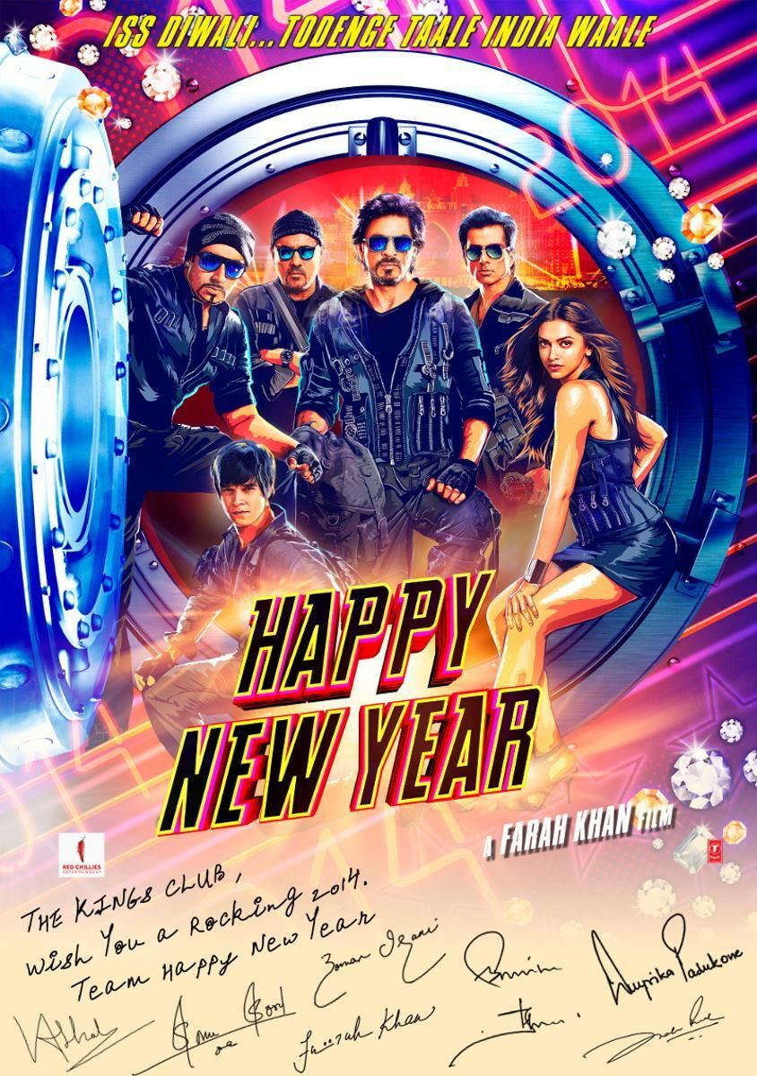 The Kings Club On Twitter Happy New Year Movie Happy New Year Bollywood Bollywood Movies