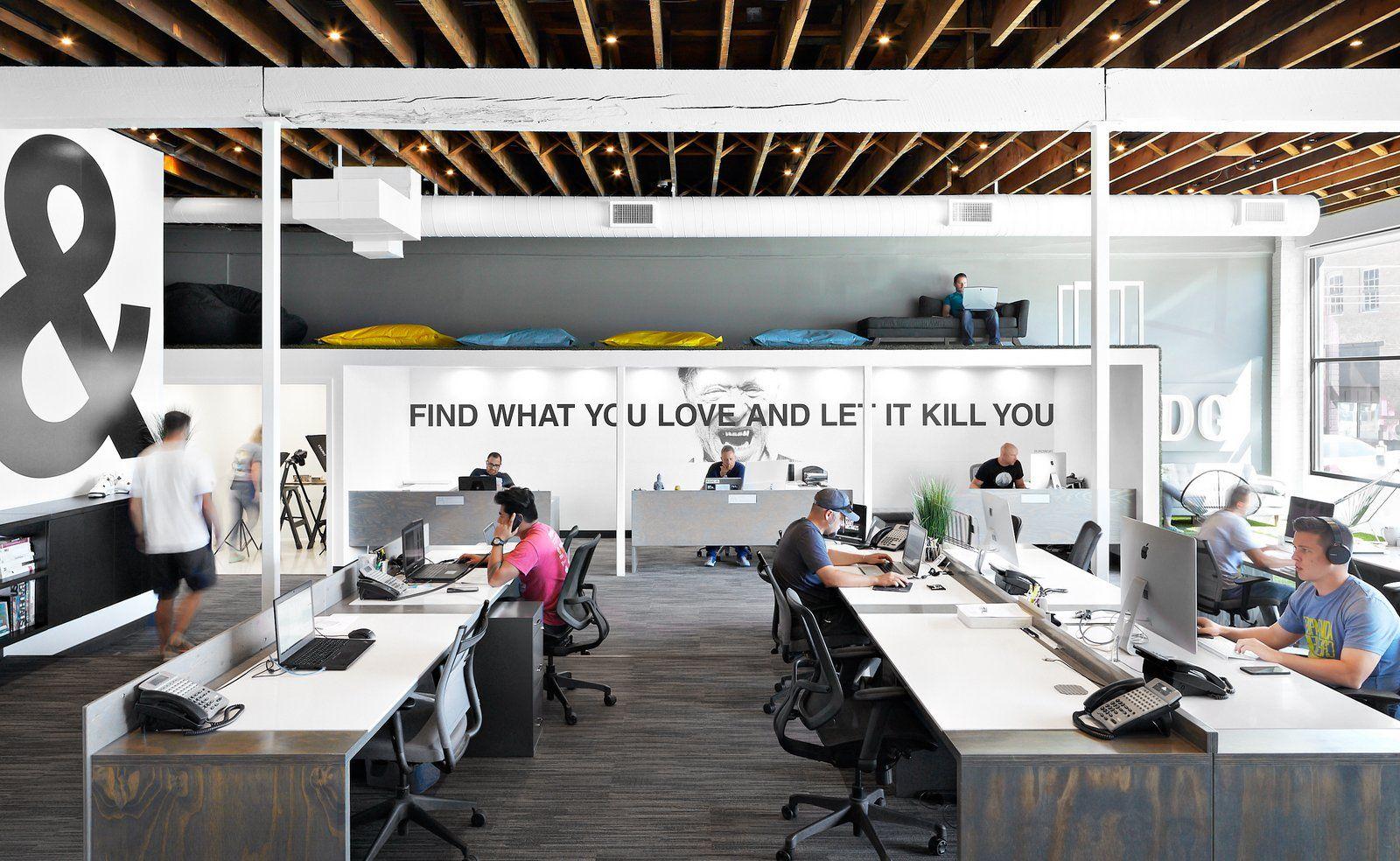 Office tour: hdg architecture offices u2013 spokane open plan offices