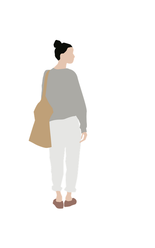 Flat People Laura Beulens People Cutout People Illustration People Png