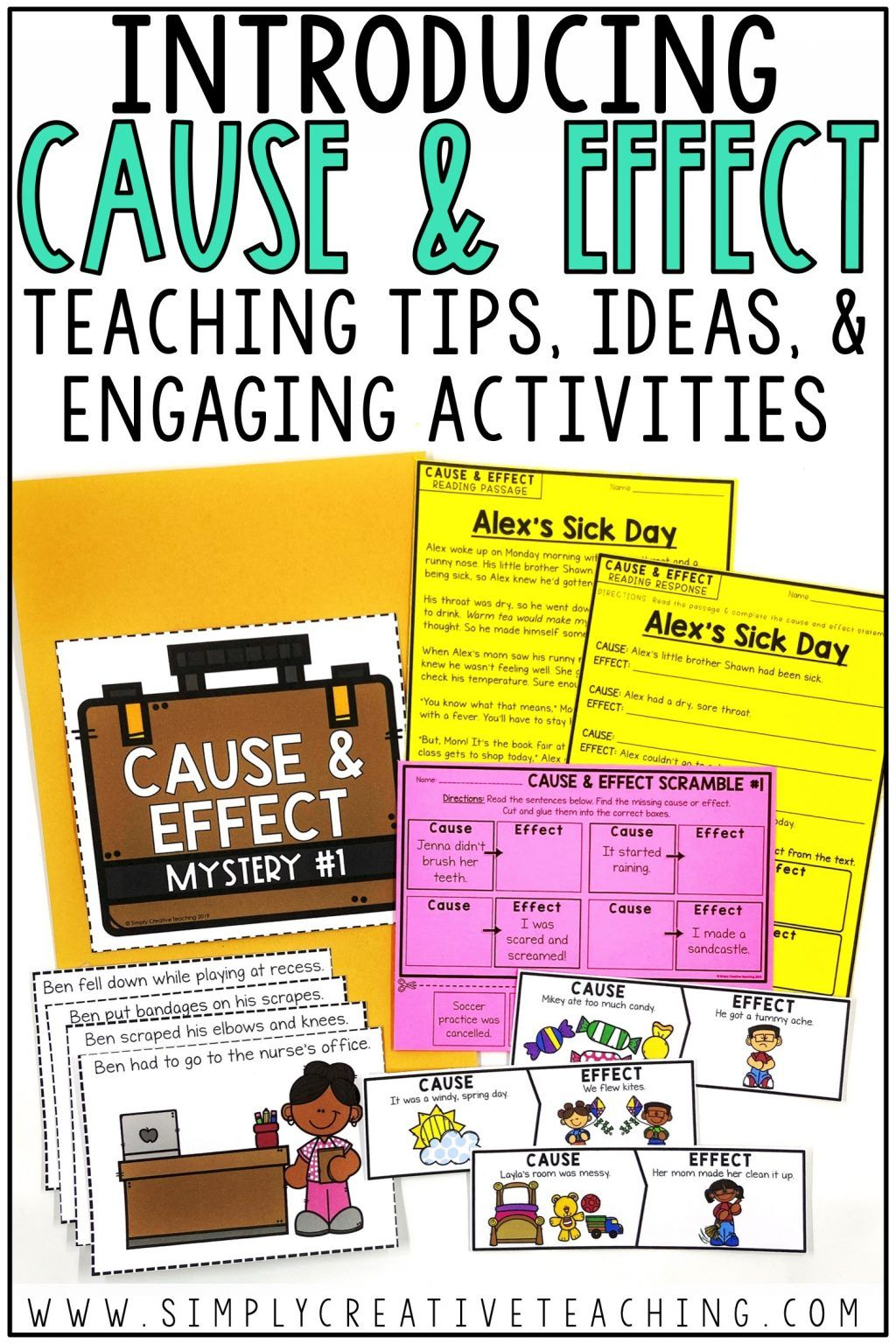 Cause And Effect Activities In With Images