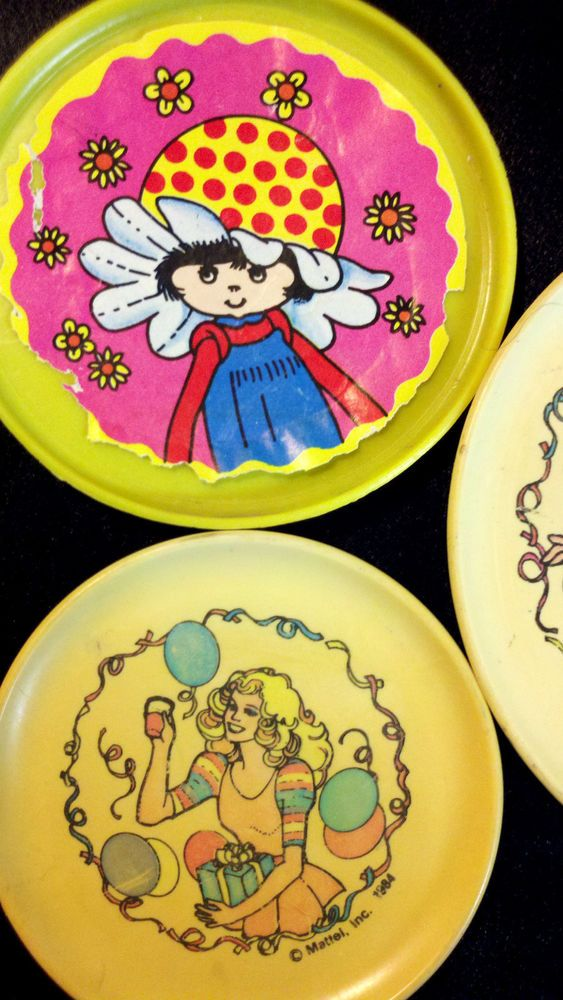 Cute Barbies accessories! RARE VINTAGE 80s PRETEND PLAY DISHES PLATES MATTEL BARBIE DOLLS ACCS PARTY TIME 1980s GIRLS PRESCHOOL KIDS TOYS COLLECTIBLES - on eBay! $2.98